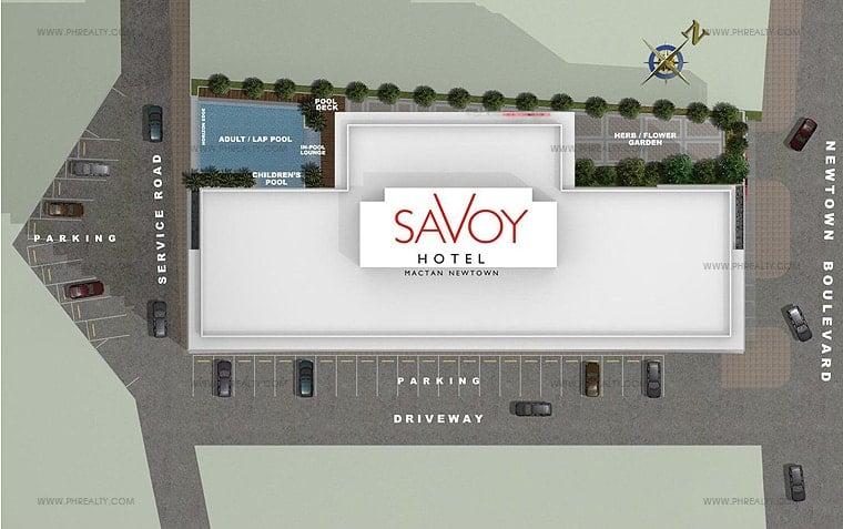 Savoy Hotel - Site Development Plan
