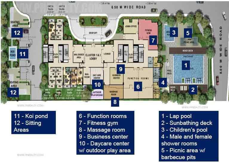 Golfhill Gardens - Amenities Plan