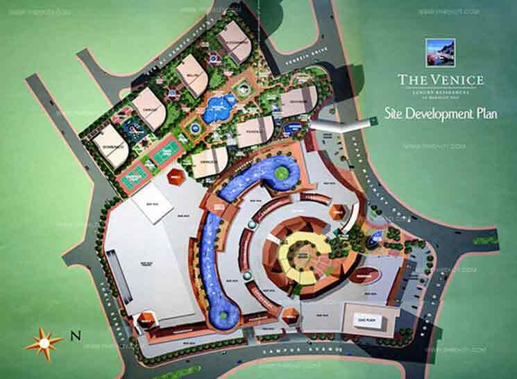The Venice Luxury Residences - Building Plan