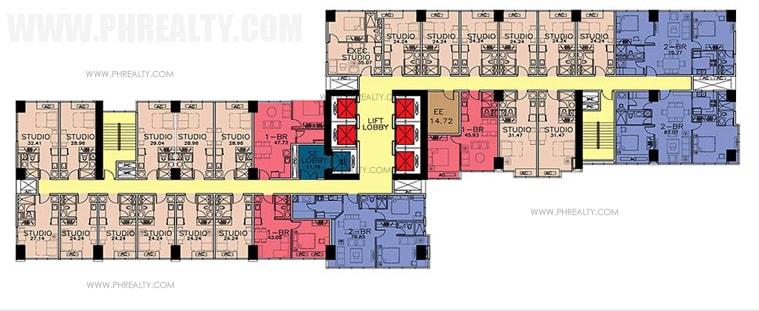 One Eastwood Avenue - Typical Floor Plan