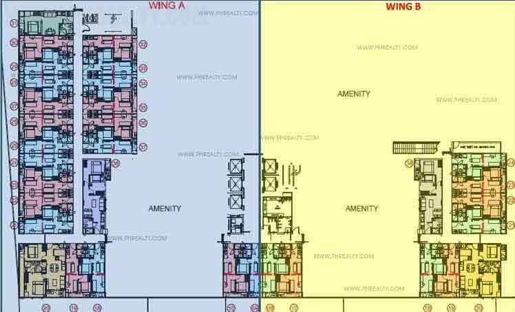 The Ellis Makati - Tower 1 Second Floor Plan