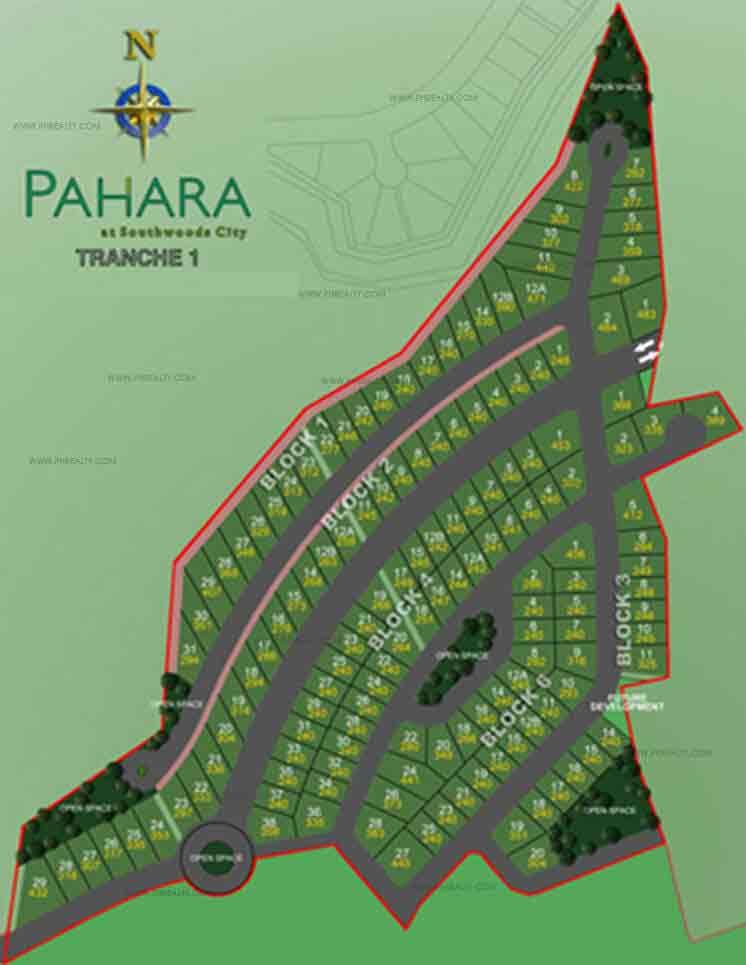 Pahara - Site Development Plan