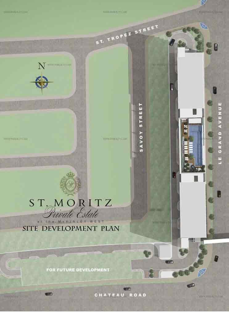 St. Moritz Private Estate - Site Development Plan