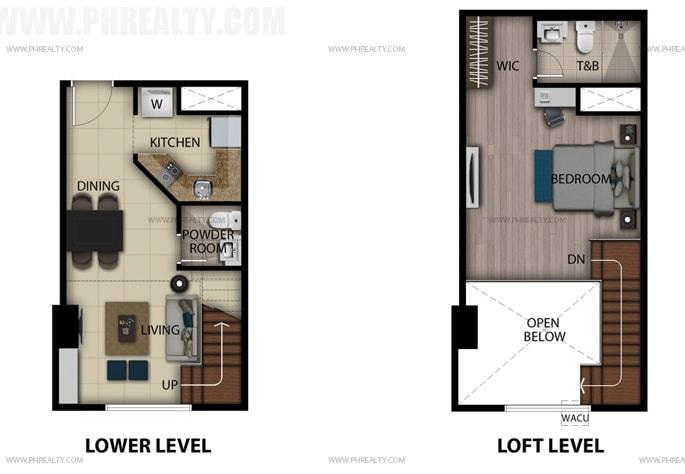 San Antonio Residences - Studio Loft Unit