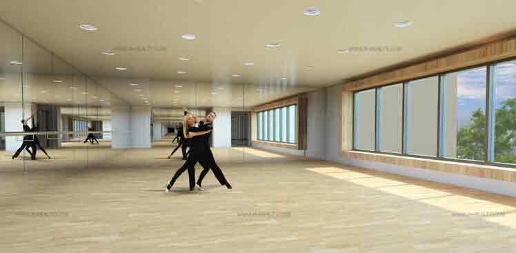 San Antonio Residences - Dance Studio