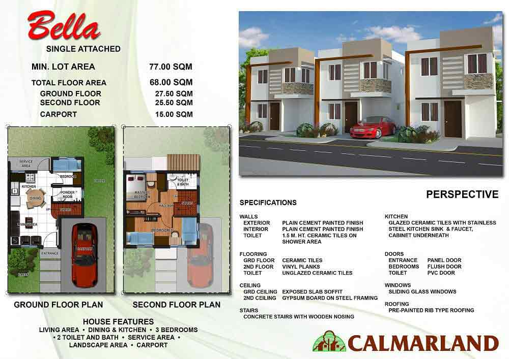 Alabang West - Bella (Single Attached)