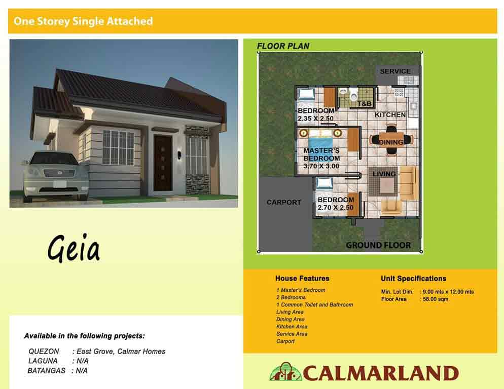Alabang West - Geia Single Attached